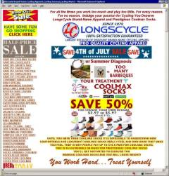 Cluttered Long Cycle Homepage (click for full size, 196kB)