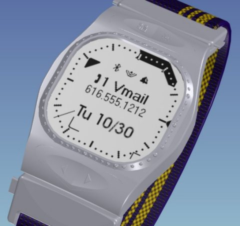 My dream digital watch (currently incarnation), with graphic LCD display.