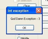God Da*n Exception 3
